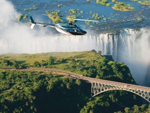 Sobrevuelo en helicóptero en Sudáfrica