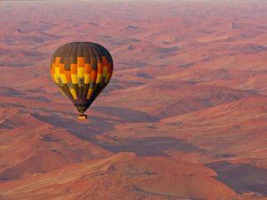 Vuelo en globo en Sossusvlei, Namibia