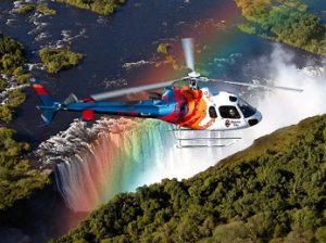 Sobrevuelo en helicóptero sobre las Cataratas Victoria