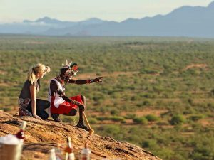 Sundowner en Samburu
