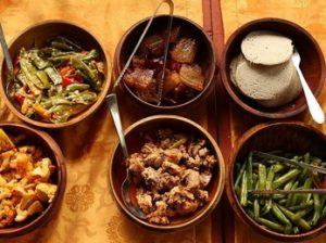 Clase de cocina butanesa