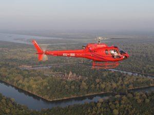 Excursión en helicóptero por Angkor Wat
