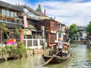 China, El pueblito de canales, Zhujiajiao