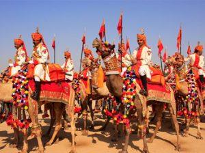 Jaisalmer, también conocida como la ciudad dorada.