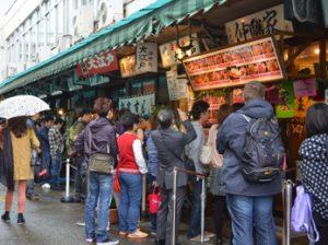 Desayunar sushi en el Tsukiji Market