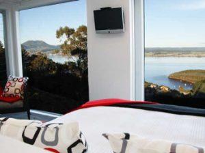 Acacia Cliffs lodge, lago Taupo