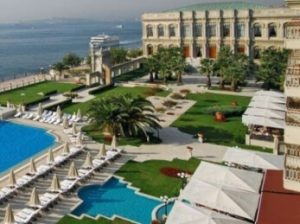 Ciragan Palace en Estambul