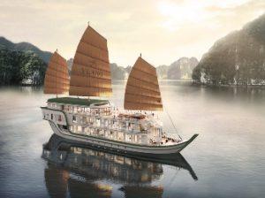 Junco YLANG en la bahía de Halong